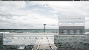 LinuxBBQ XFCE4 'Mother' by pissnaround