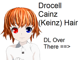 MMD Drocell Keinz (Cainz) Hair by stormilove