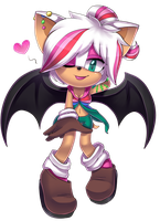 Luna the Bat by Fivey