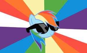 Rainbow Glasses by MisterBrony
