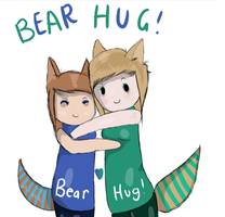 Time For A Bear Hug c: by Ieree