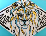 Lion Painting by SkipperSara