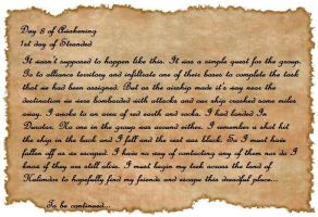 Zihala Journal Entry 8 by Lordviral