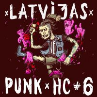cover for latvian punk/hc album by tronzero