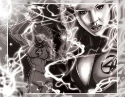 The Invisible Woman by GraphixRob