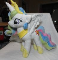 Celestia Plush by Cryptic-Enigma