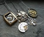 Even More Clockwork Pendants by AMechanicalMind