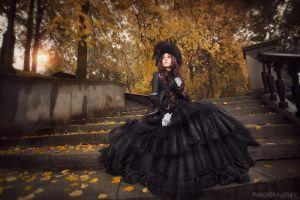 Autumn lady by IcyIrena