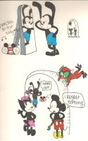 Oswald's sexy by Chaosthelittledevil