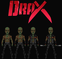 Drax the Destroyer (New Earth) by Nova20X