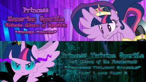 Princess Twilight Sparkle's Evil Forms by DashieMLPFiM