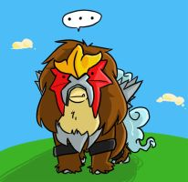 Entei by jetsamjunk