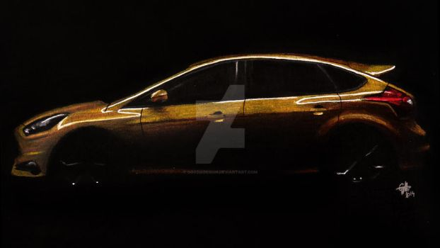 Ford Focus ST by GoodieDesign