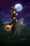 Witch for #witchcraft_challenge by akvinikum