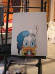 Donald Duck by Degoe