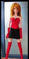 Lady In Red (and Black) by AvaInWonderland