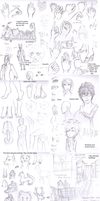 Practice Sketchdump by lucy12143