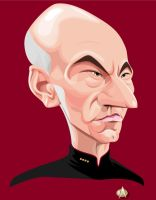 Captain Jean-Luc Picard by kgreene