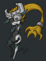 Midna Fanart by Grimm-Dream