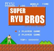 SUPER RYU BROS by stas-gavrik