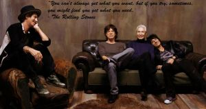 The Rolling Stones by Nitroniuminc