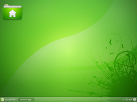 openSUSE11.1 Gnome Glass by Falco101