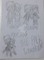 [Genderbend] THE PACK FOR LIFE by ChuChu5105