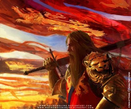 A GAME OF THRONES D.Lannister by nachomolina
