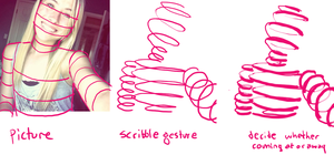 how to: scribble gesture by sweet-pea-soup