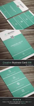 Creative Business Card 006 by khaledzz9