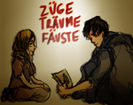 Book Thief - Liesel and Max by pebbled