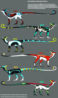 Polychroma Adoptables 1 by lambomill
