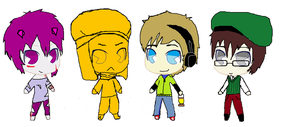 Pewdie and Friends by Russialover174