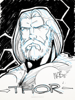 The Mighty Thor by kevinbriones
