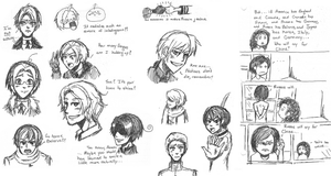 Hetalia: Hetaoni Doodles by ExclusivelyHetalia