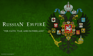 Russian Empire Coat Of Arms by saracennegative