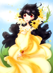 Mother Sunflower by Angelic-Blossoms