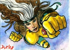 Rogue Sketch Card by DKuang
