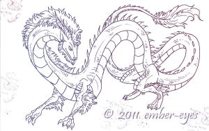 Eastern Dragon No. 5 by Ember-Eyes