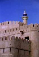 Walls of Nizwa by Majnouna