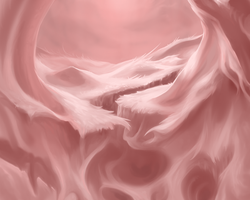 Pink speed paint BG by Soreiya