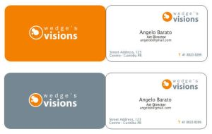 Wedge's Visions Business Card by WEDieyounGE