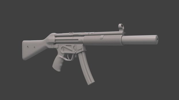 MP5 SD  (work in progress3) by Temporal333