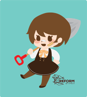 Animal Crossing character by Tanaie