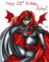 b-day art - Batwoman by Tamao