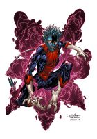 Nightcrawler - Alonso Espinoza Colors by SpiderGuile