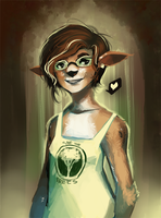 deer lass by GDBee
