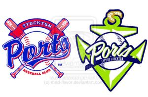 Stockton Ports Logo redesign by mad-flavor