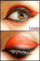 Pokemon Makeup: Groudon