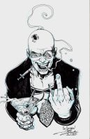 Spider Jerusalem by Darick by Gretchdragon